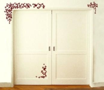 portas decoradas com adesivos Portas Decoradas Com Adesivos