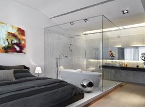suite de casal 7 300x222 Suites de Casal Decoradas, Fotos