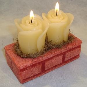 velas para decoração de festas 2 Velas Para Decoração De Festas