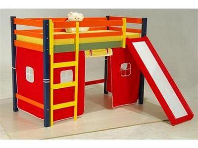 Camas Infantis com Escorregador Camas Infantis com Escorregador