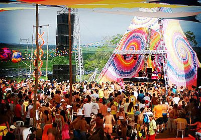 Decoração de Festa Rave Decoração de Festa Rave