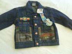 Jaqueta jeans infantil masculina Jaqueta Jeans Infantil Masculina