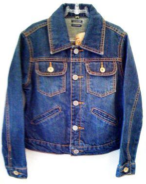 Jaqueta jeans infantil masculina2 Jaqueta Jeans Infantil Masculina
