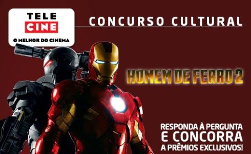 Promoção Telecine Homem de Ferro 2 Promoção Telecine Homem de Ferro 2