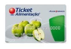 Ticket Alimentação Saldo Ticket Alimentação, Saldo