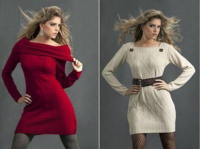 Roupas Femininas: Vestidos outono/ inverno www.cantinhojutavares.com