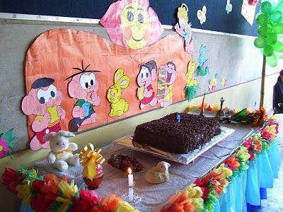 aniversario3 Decoração de Festa de Aniversário na Escola