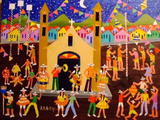 aracy tema festa junina 30x40 Artesanato para Festa Junina