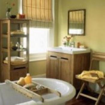 banheiro 2 Banheiro Decorado em Estilo Rústico