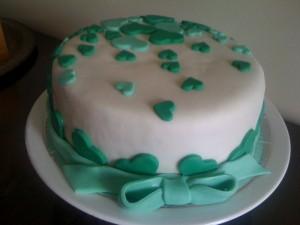bolo decorado com pasta americana 3 300x225 Decorar Bolos de Aniversario