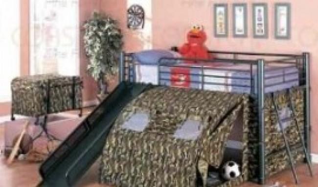 cama12 Camas Infantis com Escorregador