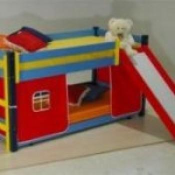 cama2 Camas Infantis com Escorregador