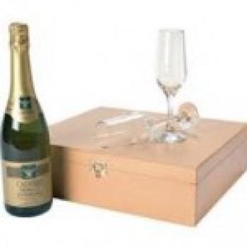 champagne Presentes para Bodas de Prata Dicas