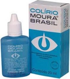 colírio caixa Colírio Moura Brasil – Preços