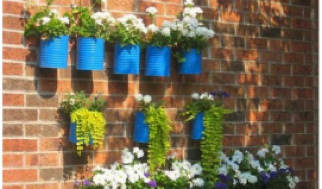 decoração com materiais recicláveis 4 Decoração Com Materiais Recicláveis