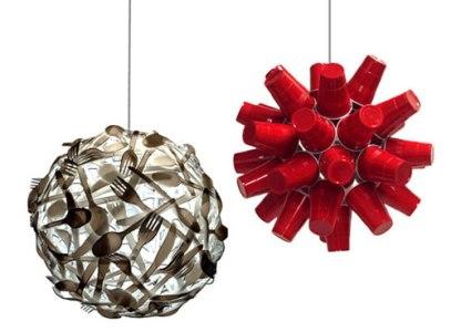 decoração com materiais recicláveis Decoração Com Materiais Recicláveis
