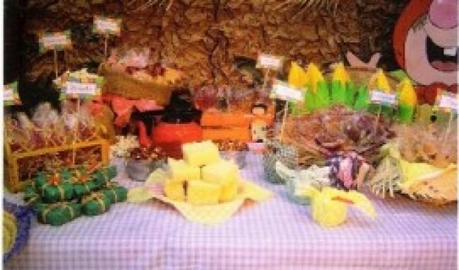 decoração de festa junina como fazer 2 Decoração De Festa Junina Como Fazer