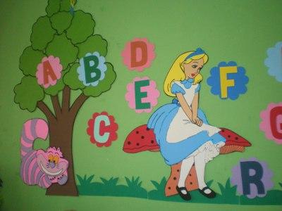 decoração em eva para sala de aula Decoração Em EVA Para Sala De Aula