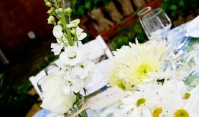 flores para decorar mesas 4 Flores Para Decorar Mesas