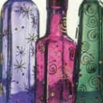 garrafas de vidro decoração03 Garrafas de Vidro para Decoração
