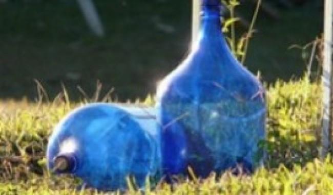 garrafas de vidro decoração05 Garrafas de Vidro para Decoração
