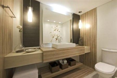 iluminacao para banheiros pequenos Iluminação Para Banheiros Pequenos