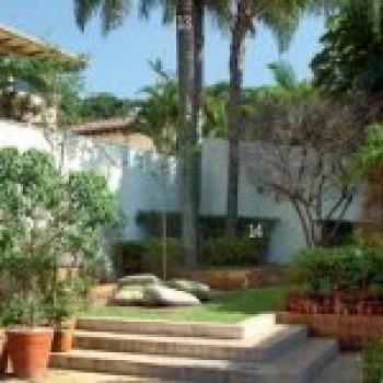 jardim 5 Jardins de fachada