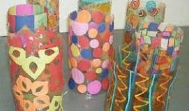 luminárias Artesanato para Festa Junina