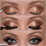 maquiagem marrom p 150x150 Maquiagem Marrom Passo a Passo