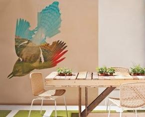 mesa de pallet Decoração com Móveis Reciclados
