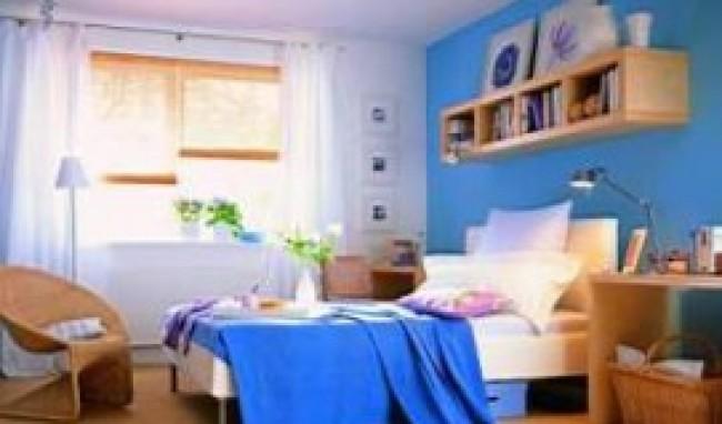 parede azul Cores para Parede de Quarto de Casal, Dicas