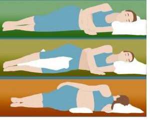 posição de dormir lado 300x2431 Melhores Posições Para Dormir Bem