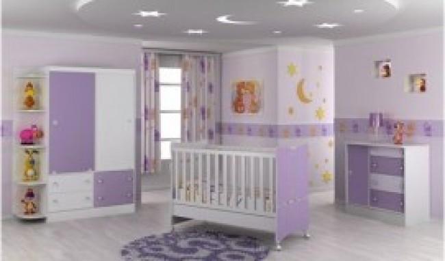 quarto 2 300x198 Conjuntos de quarto de bebê Sugestões