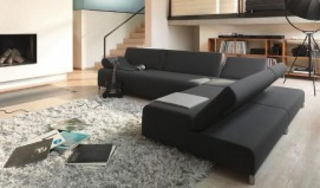 sofa 4 Modelos de sofás preto