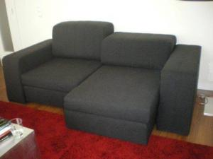 sofa preto Modelos de sofás preto