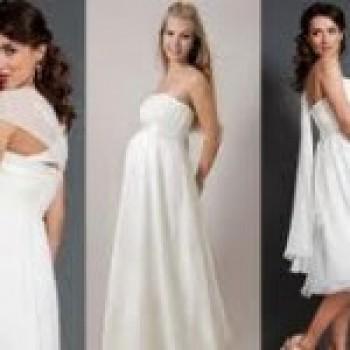 vestido de noiva para gestantes2 Vestido de Noiva para Gestantes