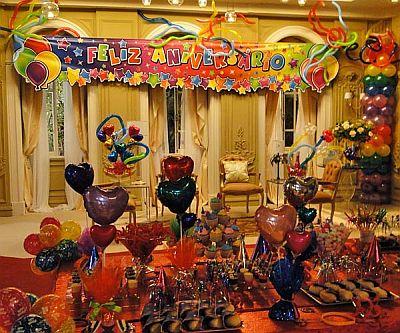 Decoração para Festa Surpresa1 Decoração para Festa Surpresa