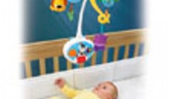Móbile Brinquedos de Bebê de 3 Meses