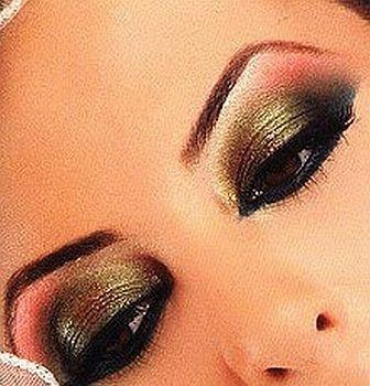 Maquiagem para Dança do Ventre2 Maquiagem para Dança do Ventre