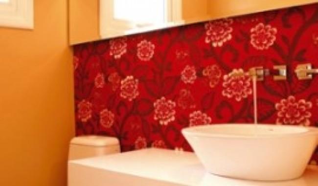 Papel de Parede para Banheiro 2 Papel de Parede para Banheiro, modelos para decorar
