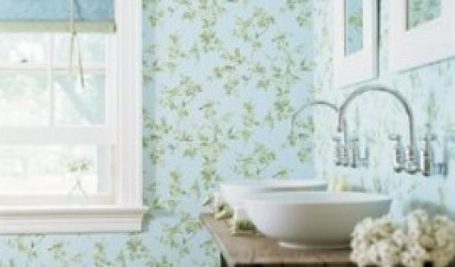Papel de Parede para Banheiro 4 Papel de Parede para Banheiro, modelos para decorar