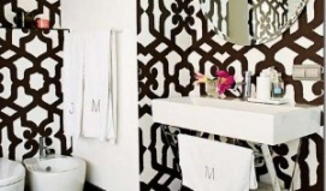 Papel de Parede para Banheiro 7 Papel de Parede para Banheiro, modelos para decorar