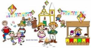 arraia 8881 300x159 Danças de São João para o maternal