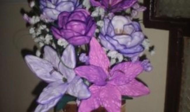 arranjo4 Curso de Flores em EVA RJ