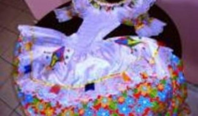 babados Vestidos para Noiva de Festa Junina