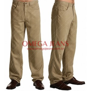 calça11 Calças Brim Masculinas
