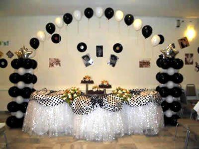 decoração anos 60 para festa 1 Decoração Anos 60 Para Festa