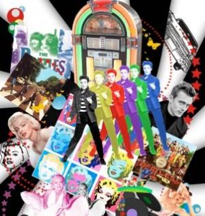 decoração anos 60 para festa Decoração Anos 60 Para Festa