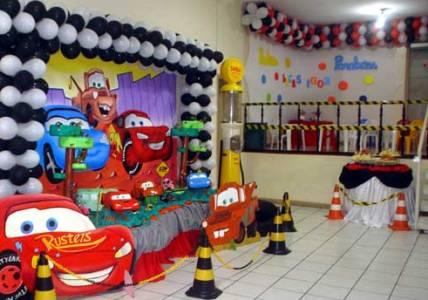 decoração carros festa infantil 1 Decoração Carros Festa Infantil