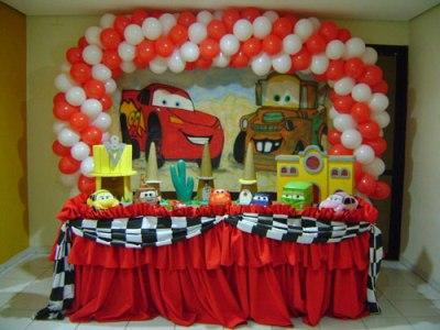 decoração carros festa infantil Decoração Carros Festa Infantil